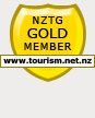 NZGT GOLD MEMBER WWW.TOURISM.NET.NZ